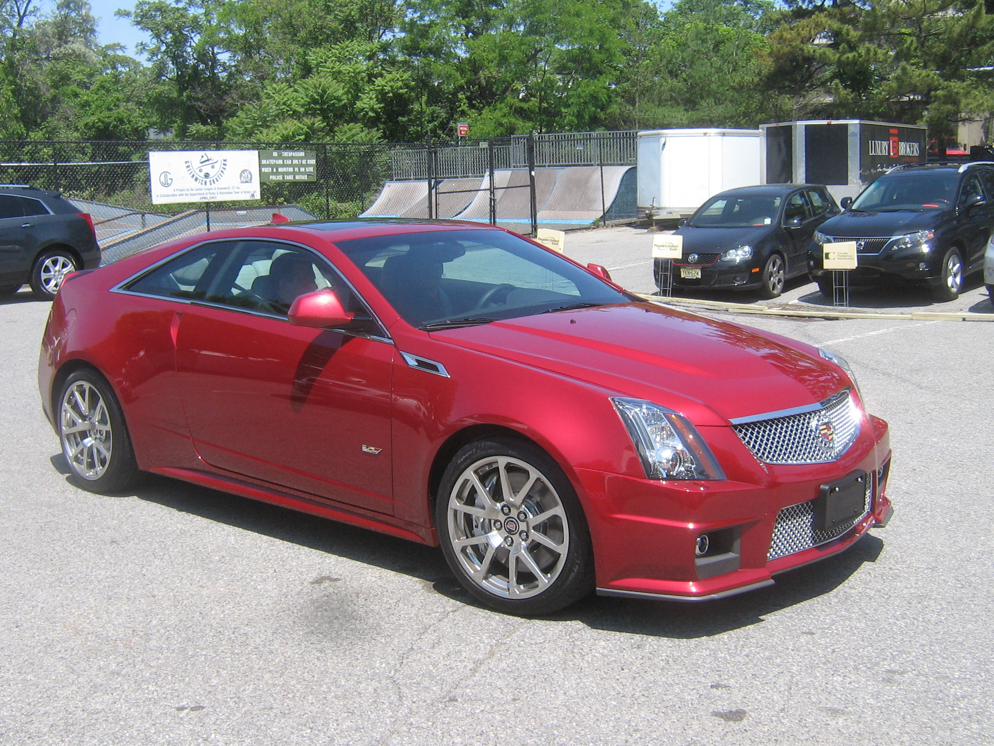 test driven 2011 cadillac cts v coupe mind over motor. Black Bedroom Furniture Sets. Home Design Ideas