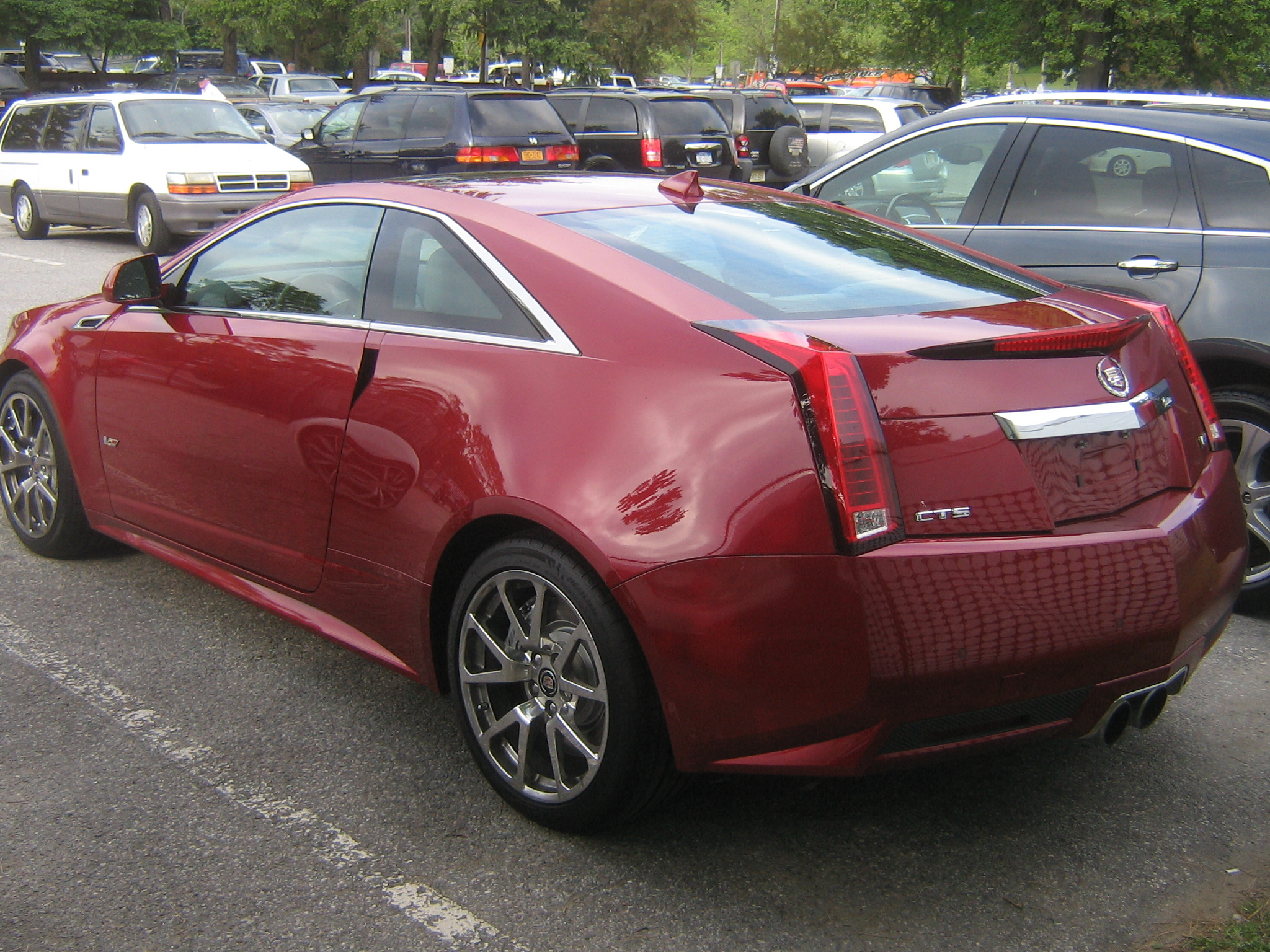 Test Driven 2011 Cadillac Cts V Coupe Mind Over Motor