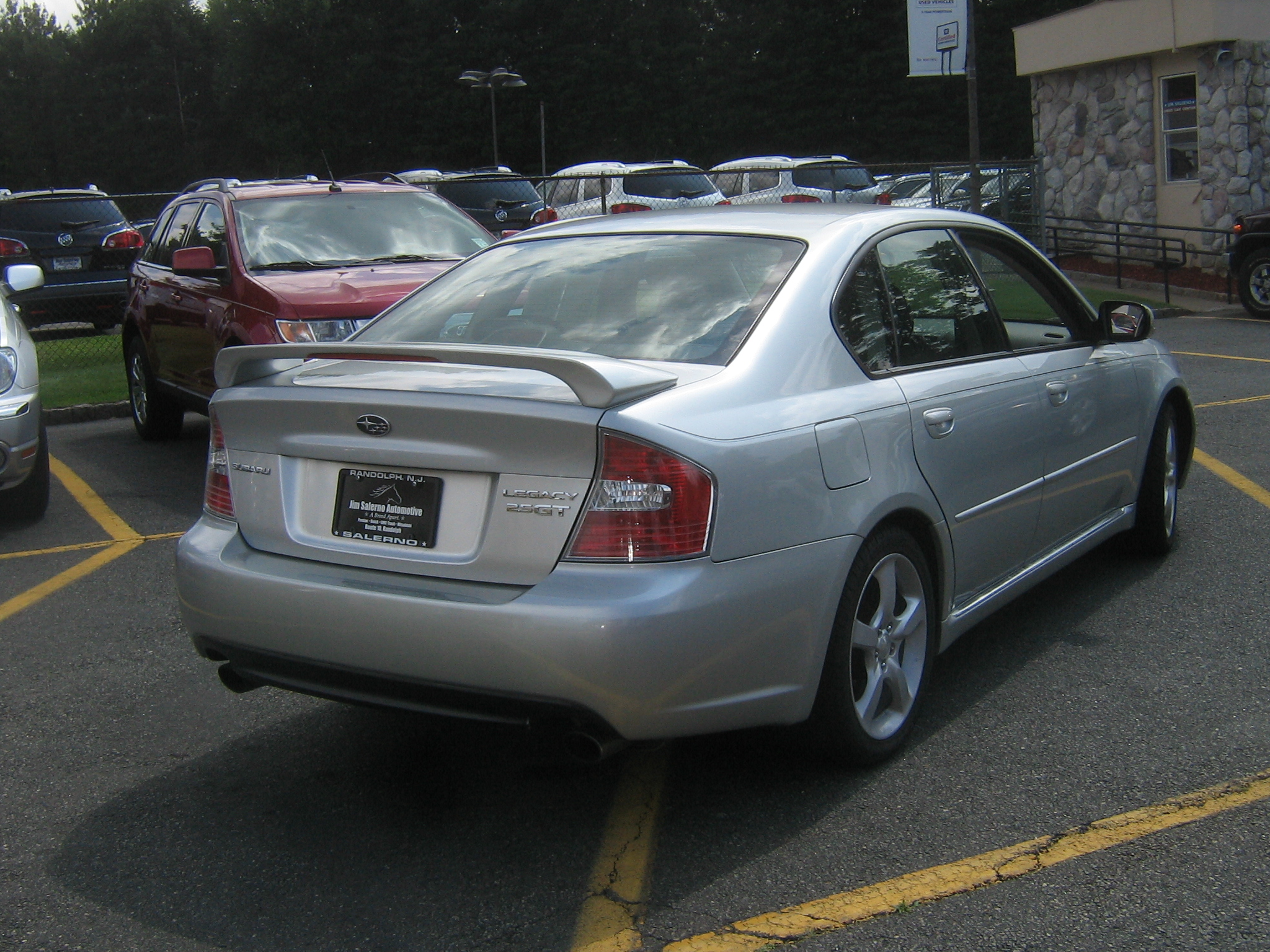 test driven: 2006 subaru legacy 2.5gt limited | mind over motor