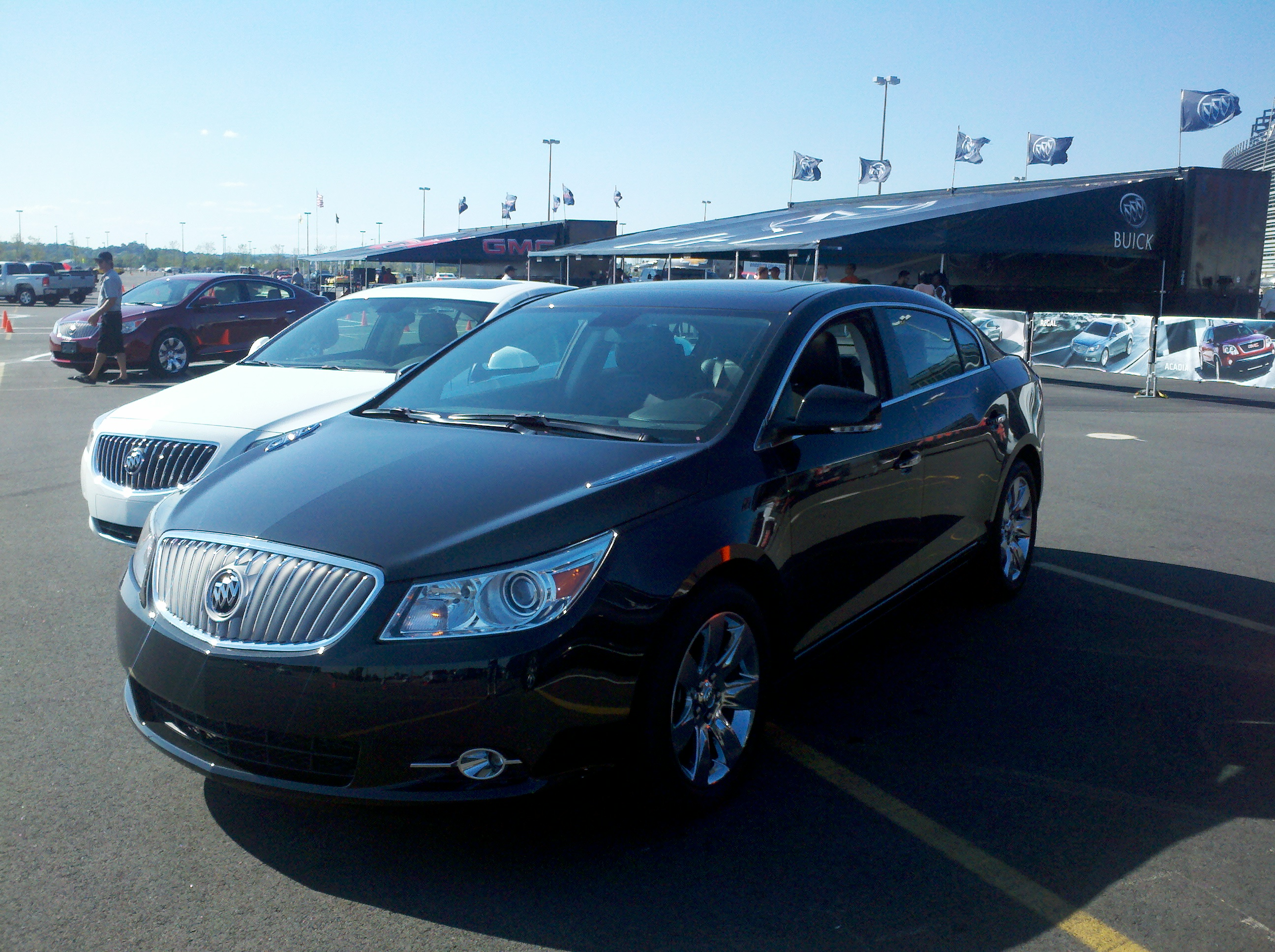 sunroof lacrosse verdigre assist leather hybrid full buick back up premium mi auto heated pwr img