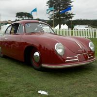 Porsche 356/2 at the Concours D'Elegance