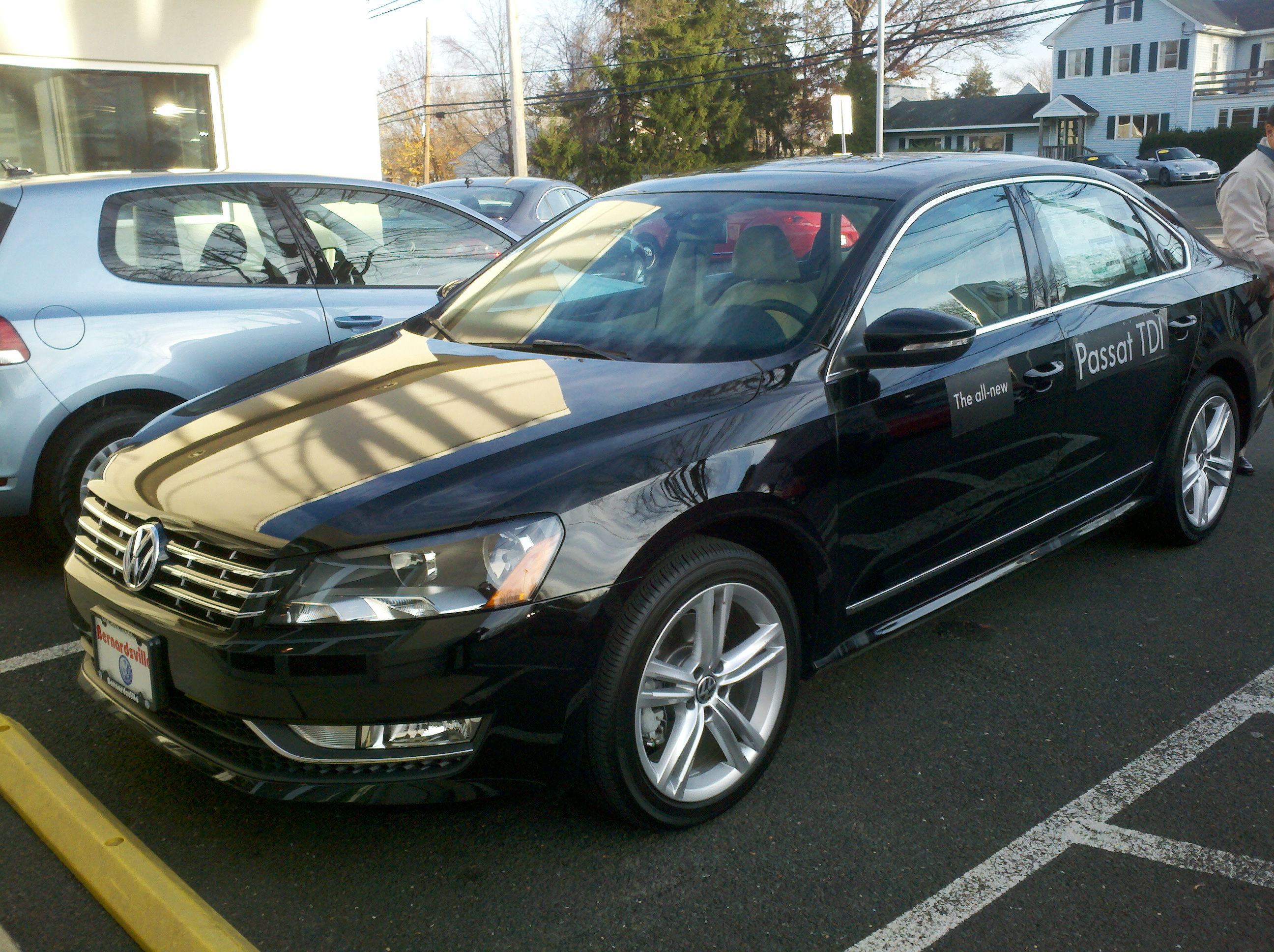test driven 2012 volkswagen passat tdi sel mind over motor. Black Bedroom Furniture Sets. Home Design Ideas