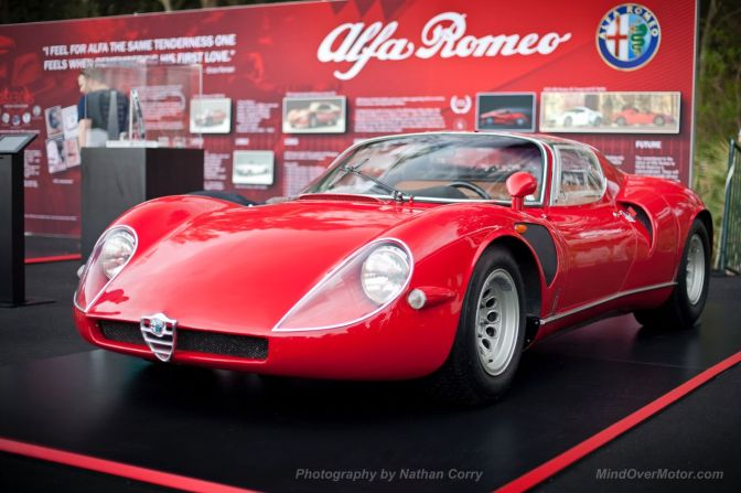 Alfa Romeo Tipo 33 Stradale Amelia Island