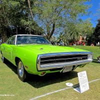 1970 Dodge Charger R/T at the 2015 Boca Raton Concours