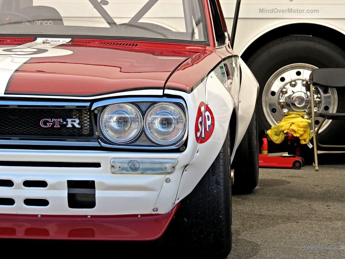 Nissan Skyline GT-R 2000GT-R Hakosuka Race Car at Laguna Seca