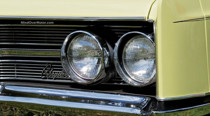 1967 Chrysler 300 Convertible at the 2014 Radnor Hunt Concours