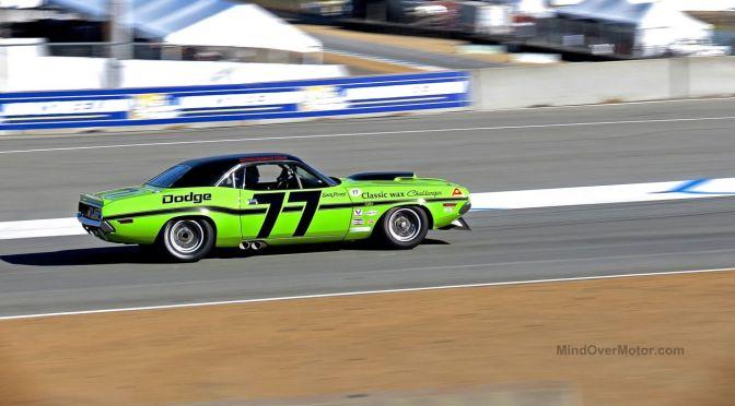 Dodge Challenger Trans Am Race Car Laguna Seca