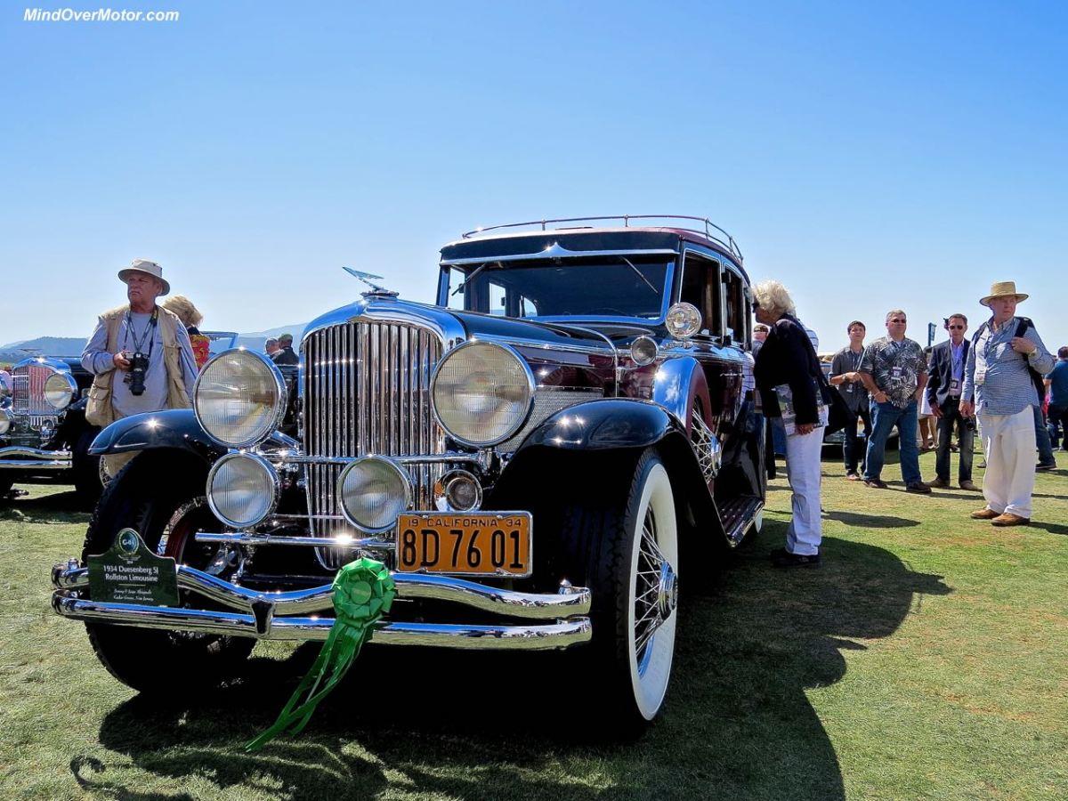 1934 Duesenberg Sj Rollston Limousine At The 2014 Pebble