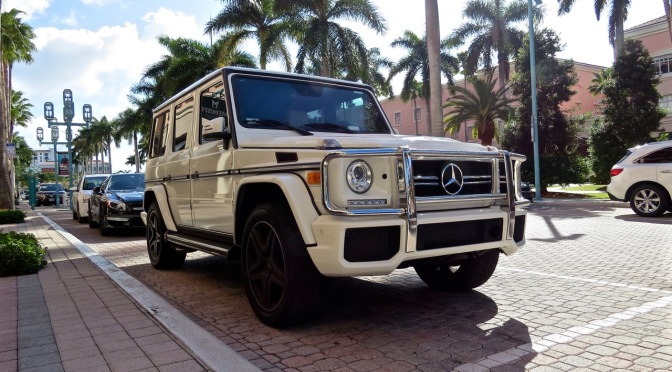 Mercedes-Benz G63 AMG spotted in Boca Raton, FL