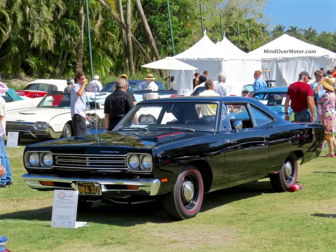 1969 Plymouth Hemi Roadrunner at the 2015 Boca Raton Concours