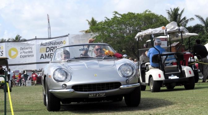 Ferrari 275 NART Spyder at the 2015 Boca Raton Concours