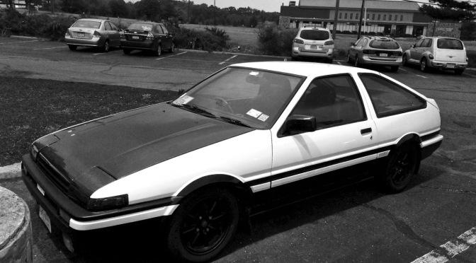 1985 Toyota Corolla AE86 Sprinter Trueno spotted in Somerset, NJ