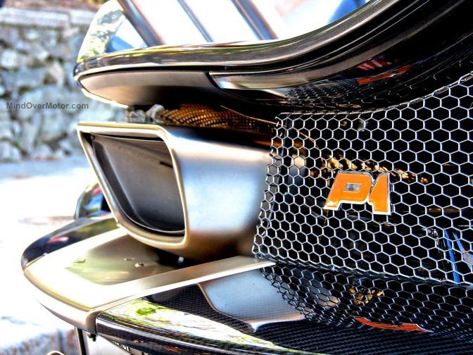 McLaren P1 Exhaust