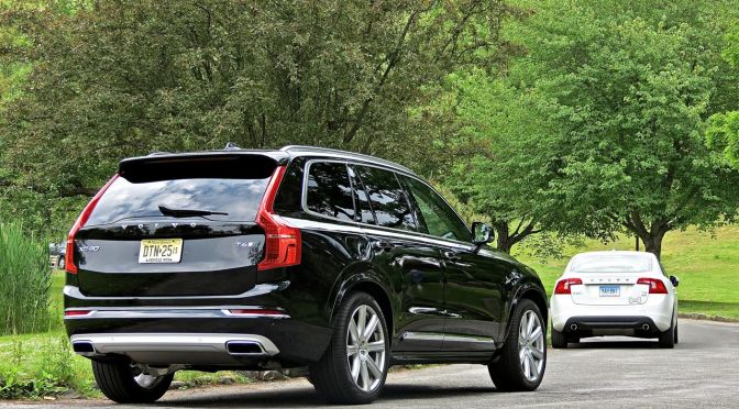 2016 Volvo XC90 Review: Tell The World You've Made Babies In Style!