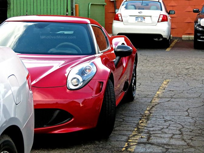 Alfa Romeo 4C Spotted on Woodward Ave in Michigan
