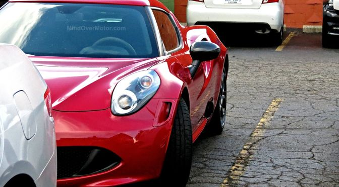 Alfa Romeo 4C Woodward Ave 2