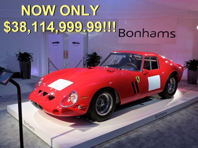 Ferrari 250 GTO Bonhams Auction