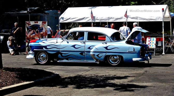 Lead East Blue Flame Custom Pontiac