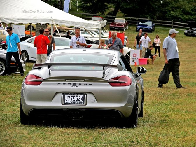 Radnor Hunt Porsche Cayman GT4 Gray