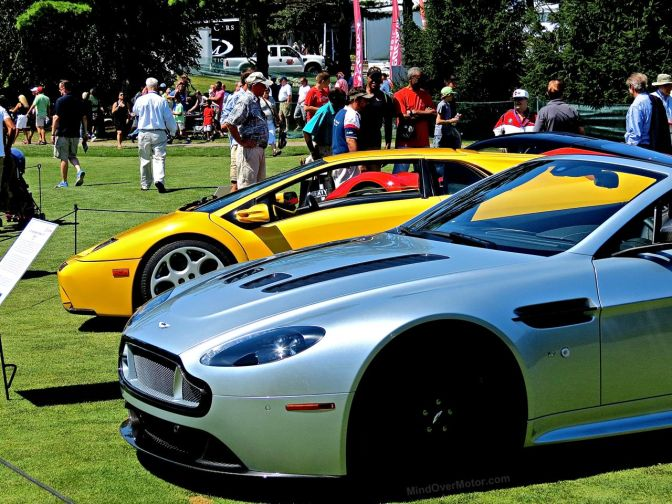 The Exotic Car Circle at the Concours of America