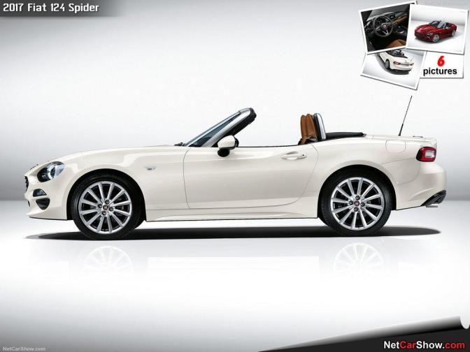 "Meet the ""Fiata"", or Fiat 124 Spider as they call it"