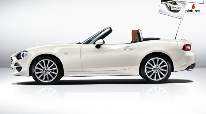 """Meet the """"Fiata"""", or Fiat 124 Spider as they call it"""