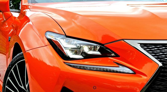 Orange Lexus RC-F Review 4