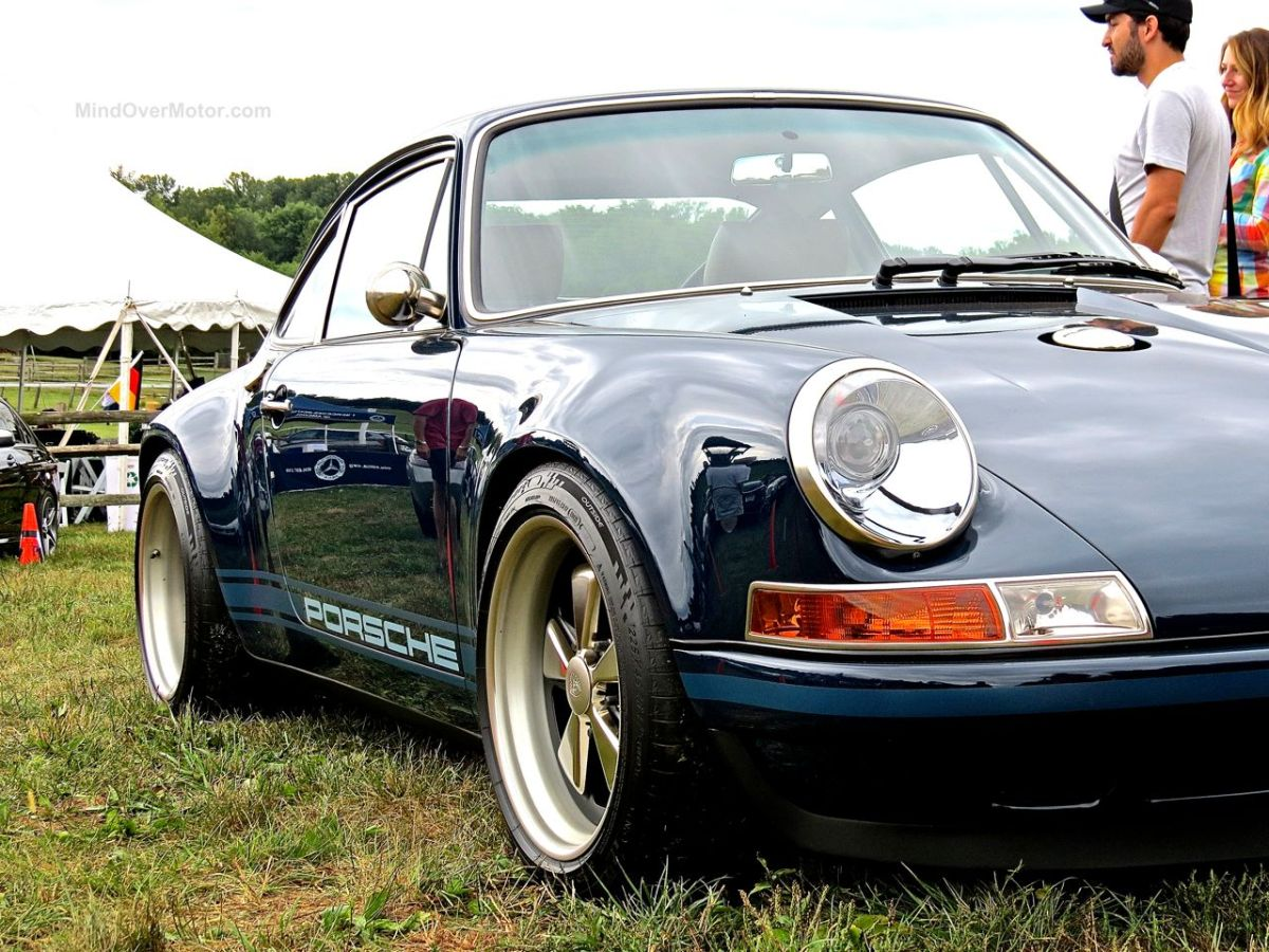 Singer Porsche 911 at the Radnor Hunt Concours