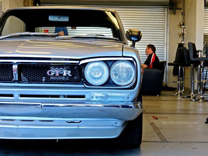 Nissan Hakosuka Skyline 2000 GT-R at Laguna Seca