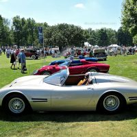 The Bizzarrini 5300 S.I. Spyder Trio at the Concours of America