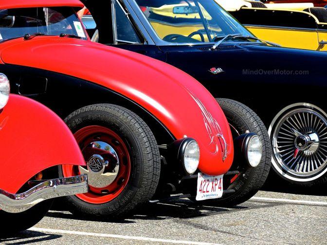 Hot Rod Volkswagen Beetle at Lead East