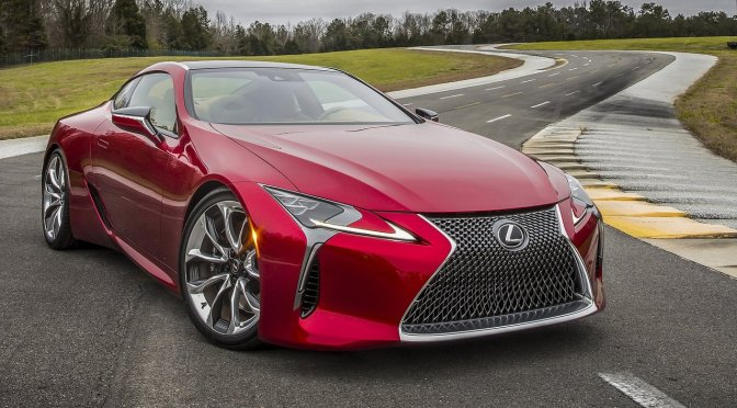 NAIAS 2016 Reaction: Lexus LC 500