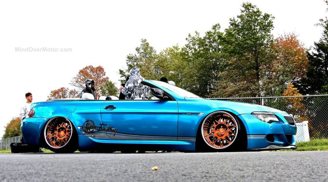 Slammed BMW M6 Convertible at First Class Fitment