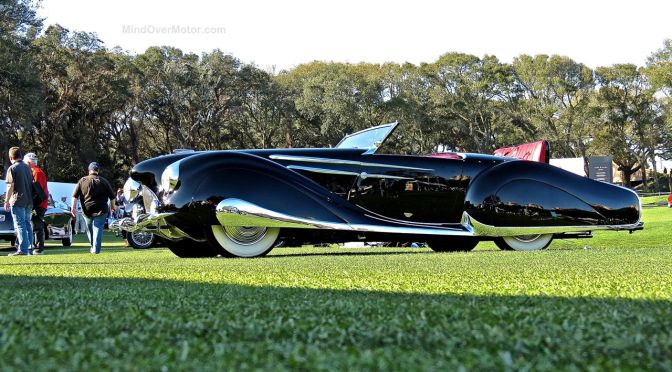 "1947 Delahaye 135M Narval ""Cover Girl"" at the Amelia Island Concours d'Elegance"