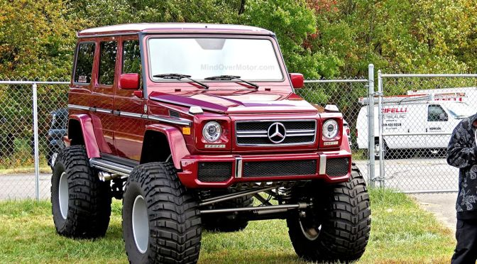 Mercedes G63 AMG Monster Truck at First Class Fitment