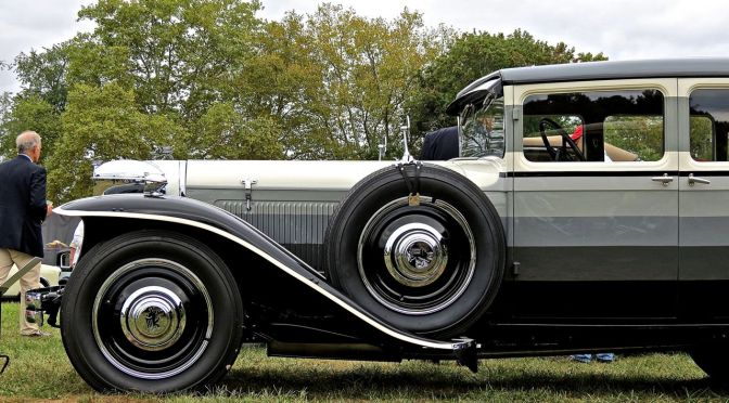 1932 Ruxton Model C at the Radnor Hunt Concours d'Elegance
