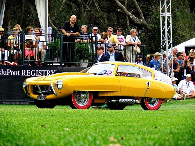 1952 Pegaso Z-102 Cupula Coupe, 2016 Amelia Island Winner