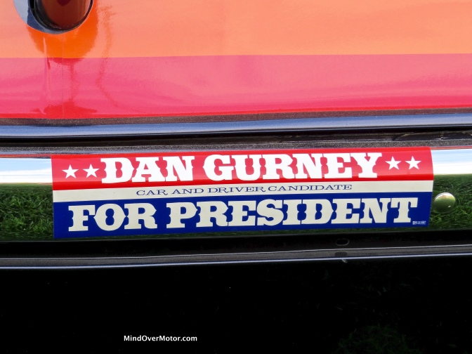 Dan Gurney's #42 Plymouth AAR 'Cuda at the 2016 Amelia Island Concours