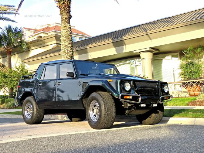 Lamborghini LM002 Spotted at the Ritz Carlton, Amelia Island