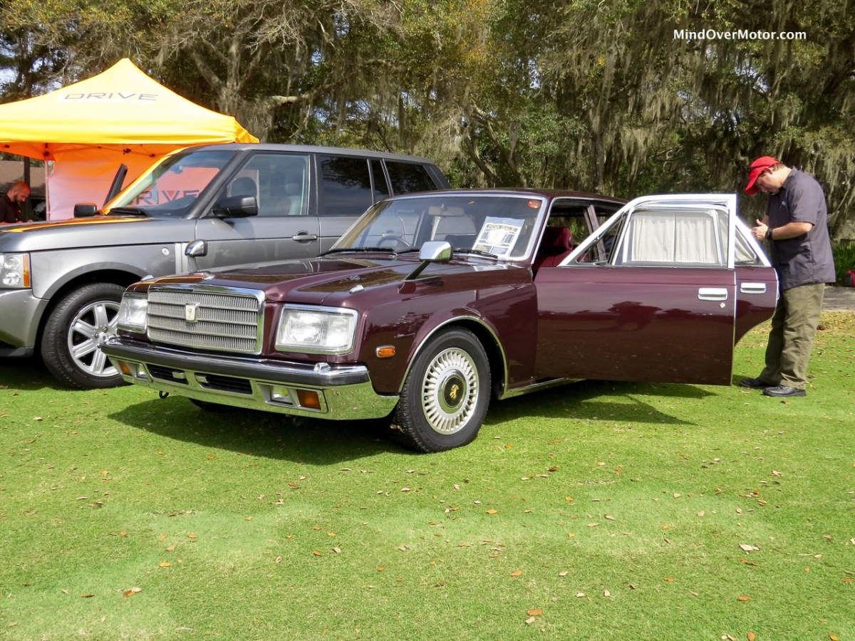 1990 toyota century at the 2016 festivals of speed amelia for Century motors of south florida