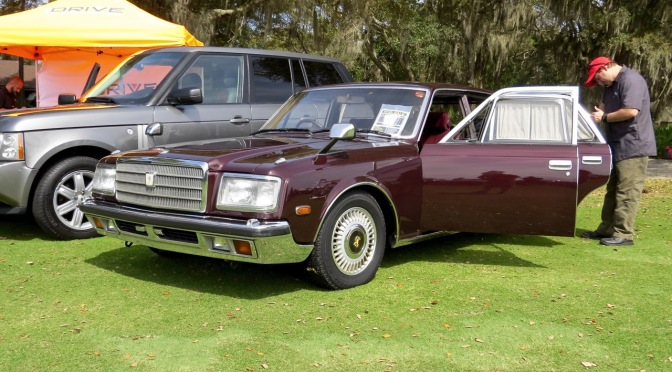 1990 Toyota Century at the 2016 Festivals of Speed, Amelia Island