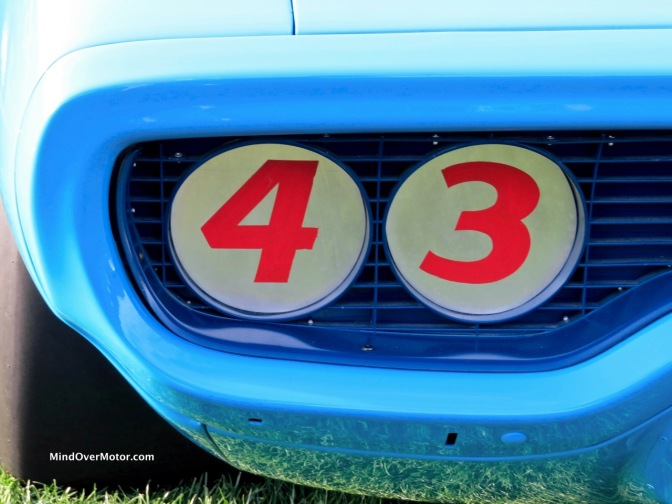 1971 Plymouth Road Runner, raced by Richard Petty, at the 2016 Amelia Island Concours