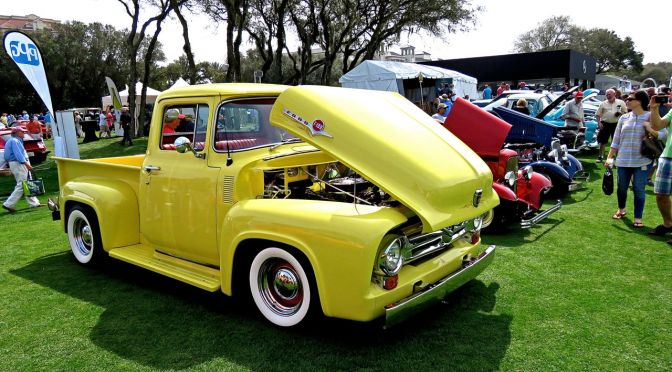 Classic Ford F-100 at Amelia Island
