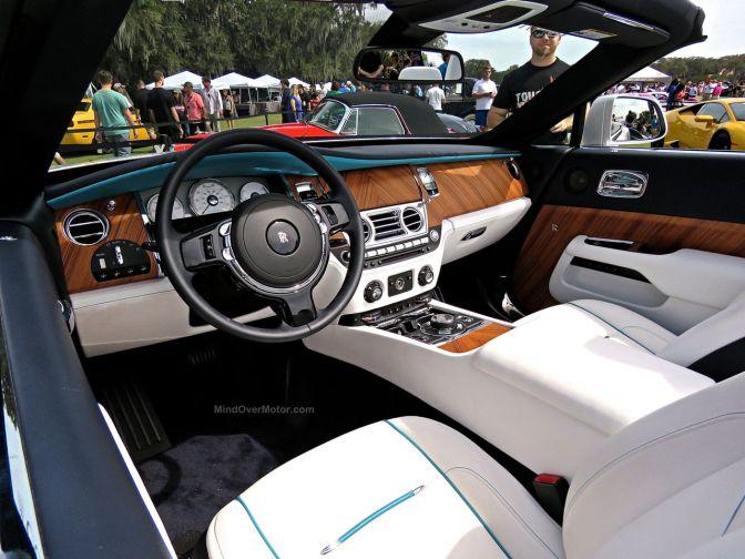 Rolls Royce Dawn at Amelia Island