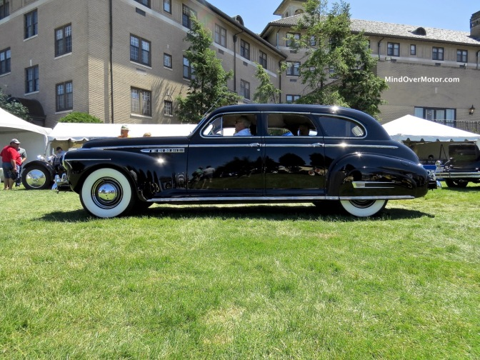 1941 Buick Limited at the 2016 Hershey Concours