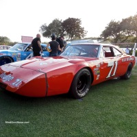 Bobby Isaac's #71 Dodge Charger Daytona at the 2016 Amelia Island Concours