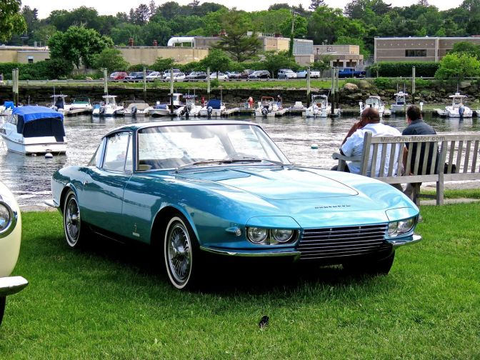 The one, and only, Chevrolet Corvette Rondine at the Greenwich Concours