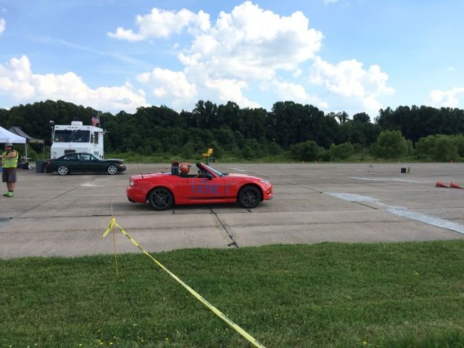 Popping My Autocross Cherry