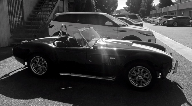 Shelby Cobra Kit Car spotted in Los Angeles, CA