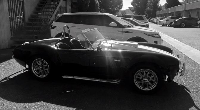 shelby cobra kit car spotted in los angeles ca mind over motor. Black Bedroom Furniture Sets. Home Design Ideas